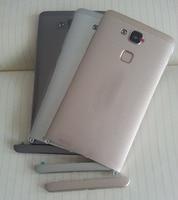 Original For Huawei Ascend Mate 7 Back Battery Cover Housing Door With Fingerprint Scanner Flex Cable