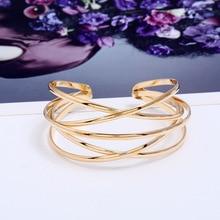 LZHLQ Cuff Bangles For Women Brand Big Bohemia Boho Fashion Bangles Indian Girls Bracelets & Bangles Female Cute Ladies Jewelry