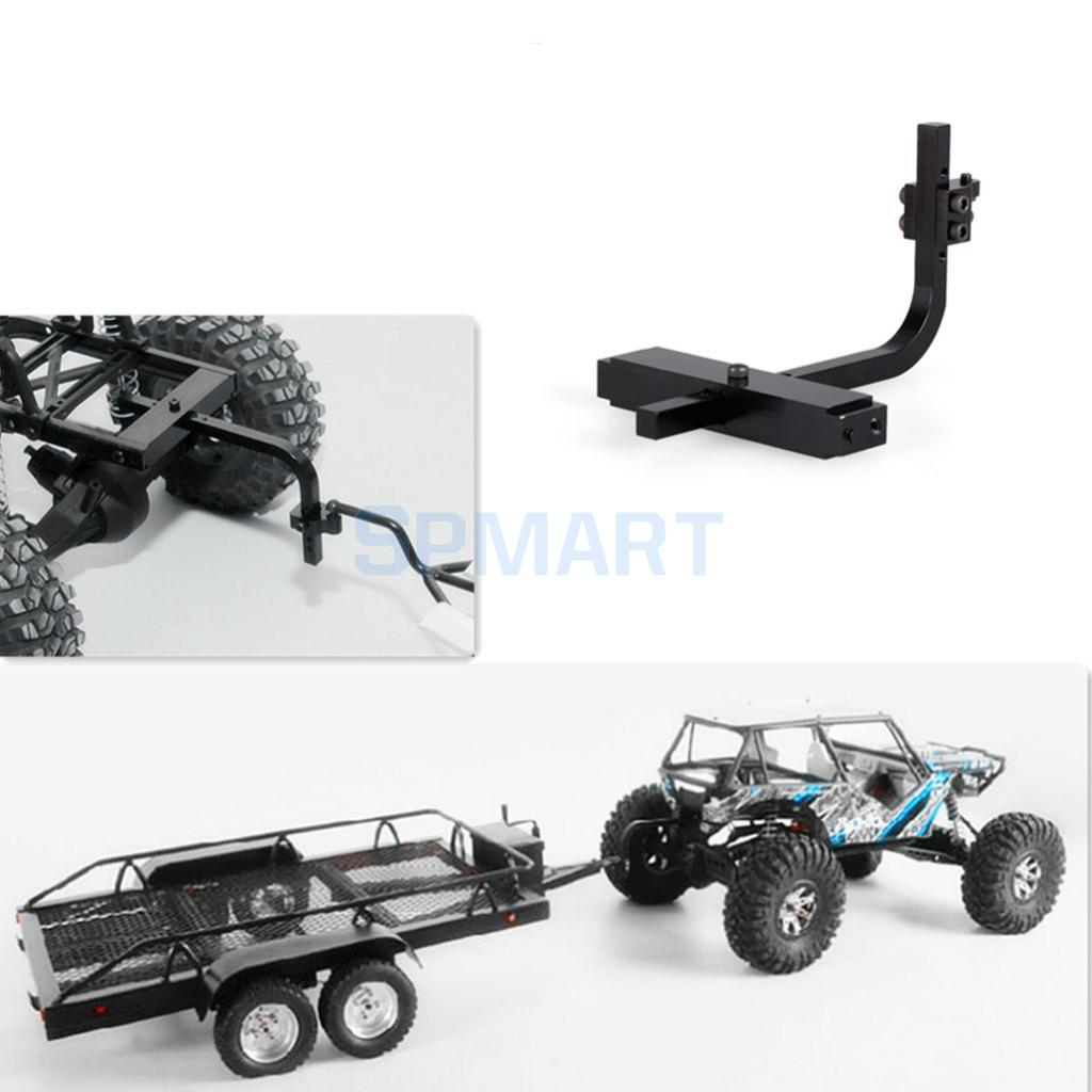 Trailer Hitch Receiver Fit 1/10 RC Traxxas HSP Redcat RC4WD Axial SCX10 D90