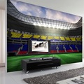 Free Shipping Coffee Shop restaurant bedroom living room TV background wallpaper stereoscopic 3D football stadium mural