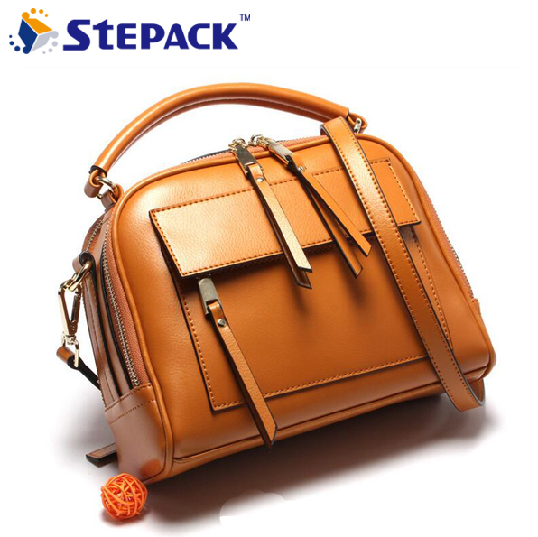 2017 Brand New Top Quality Genuine Leather Ladies Bag Vintage Handbag Bag Women Shoulder Bag Female Bolsas Crossbody Bag WMB0092 new product sales zooler brand zipper cowhide bag top handle shoulder bag simply solid genuine leather bag women bag bolsas c108