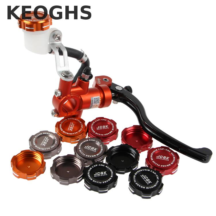 Keoghs Motorcycle Brake Master Cylinder Reservoir Cap/cover 35mm Inside Diameter Cnc Aluminum For Adelin Px1 For Frando 7nb keoghs real adelin 260mm floating brake disc high quality for yamaha scooter cygnus modify