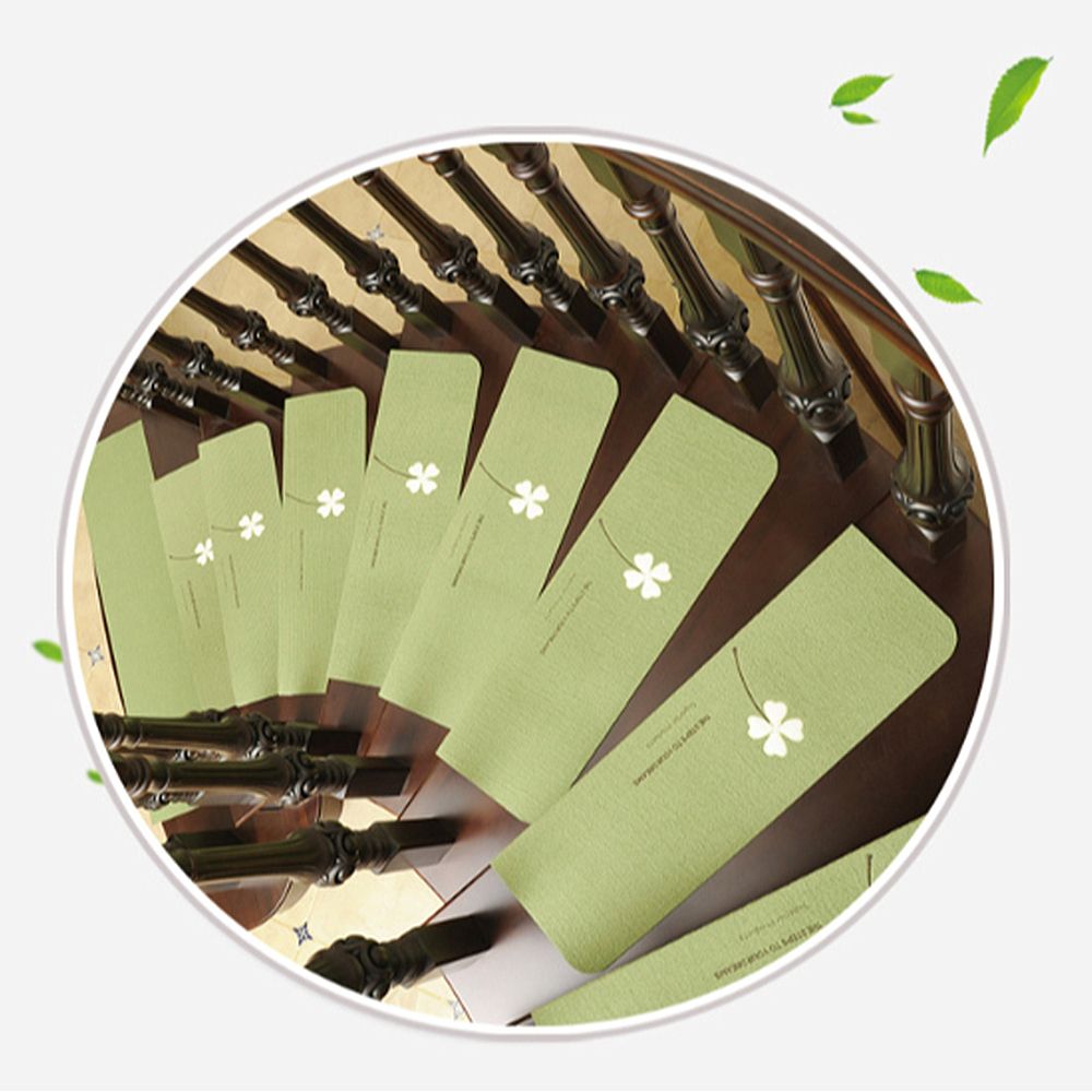 Carpet Stair Treads Non Slip Luminous Floor Covers Step Mats Rotary Staircase Carpets Pattern Glow Stair Treads Protector Mats