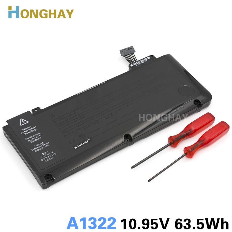 "Honghay A1322 Laptop Batterij Voor APPLE MacBook Pro 13 ""A1278 MB990 MB991 MC700 MC374 MD313 MD101 MD314 MC724 MC375 MC374LL / A"