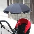 Mejores Ventas de Bebé Cochecito Del Paraguas Plegable Ajustable Sombrilla Impermeable Color Sólido Fortalecer Cochecitos Para Niños Accesorios