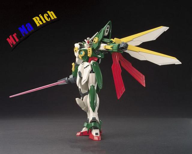 Anime Figure Hg 1:144 Gundam Wing Gundam Assembled Toy Pvc Action Figures Toy Model Collectibles Robot 2