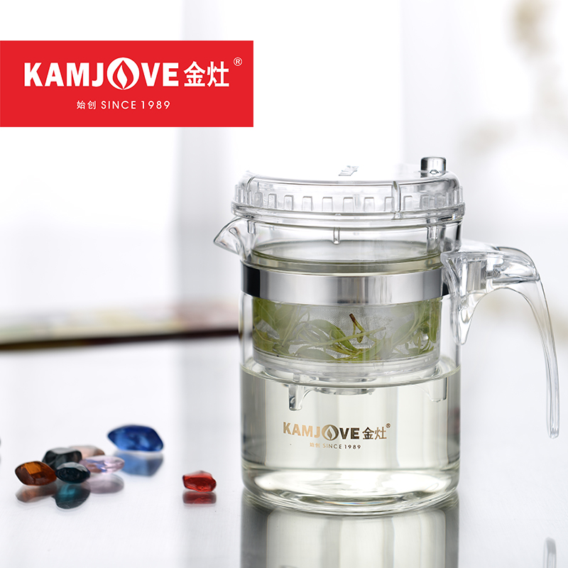 [GRANDNESS] TP-140 Kamjove Art Tea Cup * Mug & Teapot 300ml 10.14 fl oz Teaports Glass tea Kettle Elegant cup kamjove tea pot