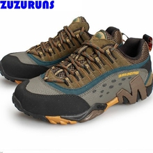men low top flats casual shoes waterproof trekking breathable genuine leather casual climbing shoes men trainers flat shoes 378h