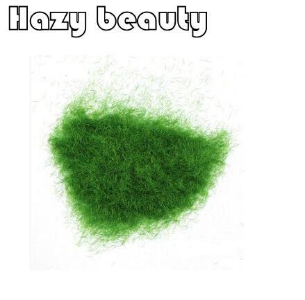 250g Hazy beauty Diy velvet grass turf lawn grass powder diy Building sand table Landscape model material toy