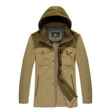Верблюд куртки зима горячая распродажа толстый слой ветровка-мужчин верхняя одежда X5F110008