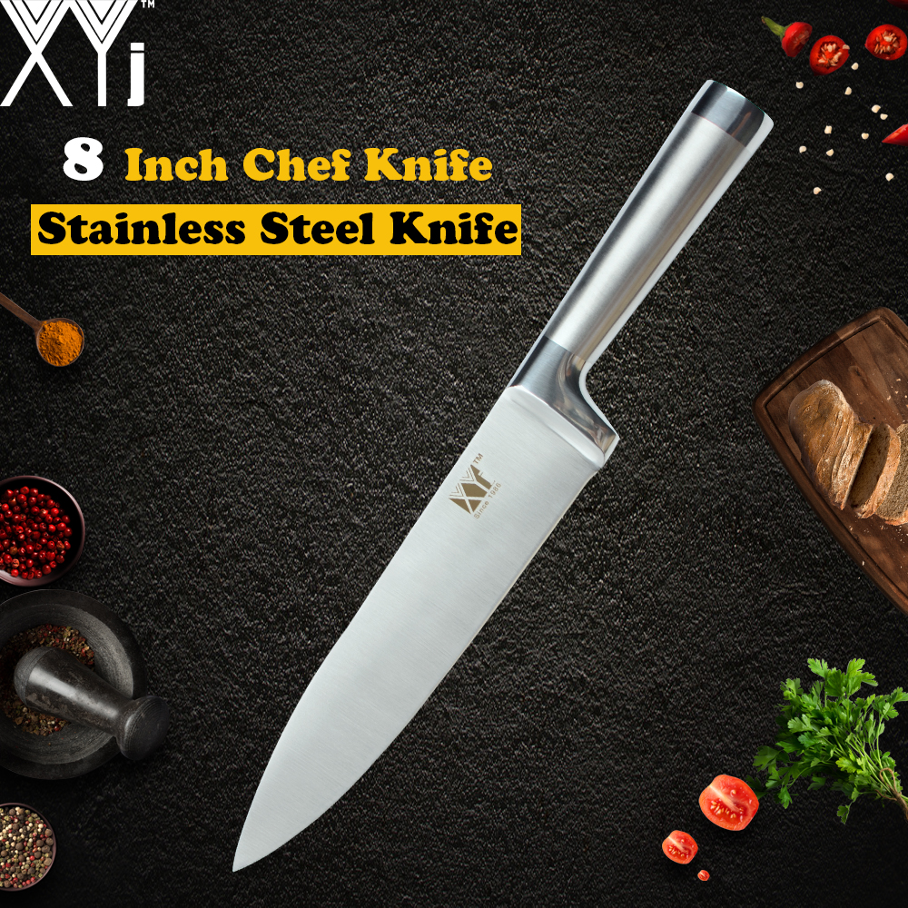 XYj Kitchen Stainless Steel Knife Ultra Thin 7cr17 Stainless Steel Blade Chef Slicing Bread Santoku Utility Paring Knives