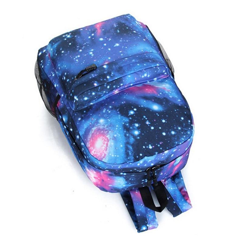 sky impresso mochila bp034 School Bag Color : Blue, green, rose
