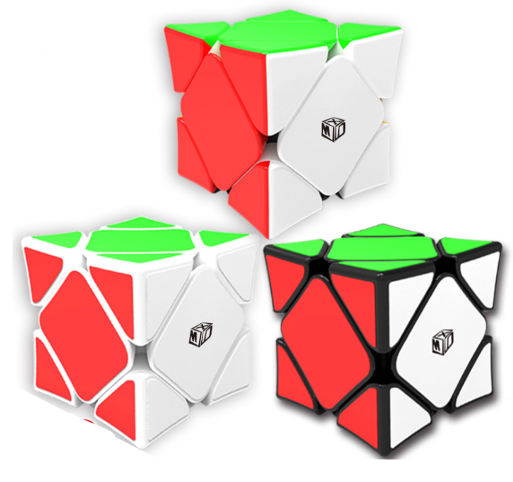 QiYi Magnetic Skew Speed Magic Cube Wingy Concave Stickerless Cubo Puzzle Educational Toys For Children Kids Gift qiyi qi yuan s 4x4 magic cube competition speed puzzle cubes toys for children kids cubo stickerless matte cube
