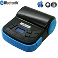 Novo 80 MM Bluetooth POS Impressora de Recibos térmica impressora USB Protable Móvel Para Windows XP/7/8 Android IOS Telefones