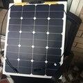 12 V 65 W Macio Flexível de Alta Eficiência de Silício Monocristalino Painel Solar Para 12 V bateria de Carro Motorhomes de Energia Solar celular