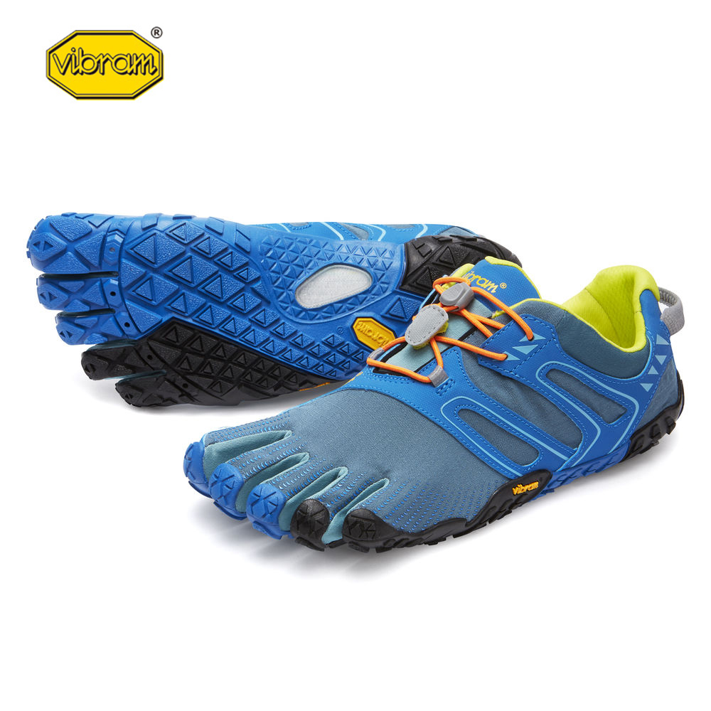 цена Vibram fivefingers V-TRAIL Hot Sale Design Rubber Five Fingers Outdoor Slip Resistant Breathable Light weight Shoe for Men онлайн в 2017 году