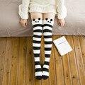 Princesa meias lolita doce Japonês dos desenhos animados do coelho do sono meia veludo macio na altura do joelho-meias altas inverno super quente soks GXW51