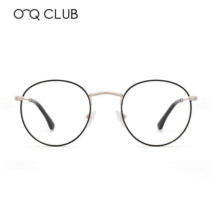 High Quality Round Glasses Frame Men Women Vintage Prescription Eyeglasses Myopia Optical Frames Spectacles Retro Eyewear
