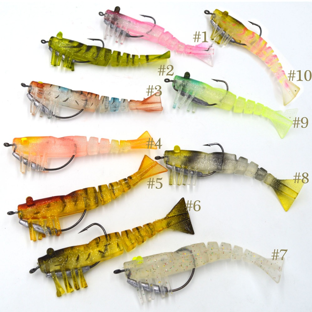 Soft lures for bass for Fishing soft plastics