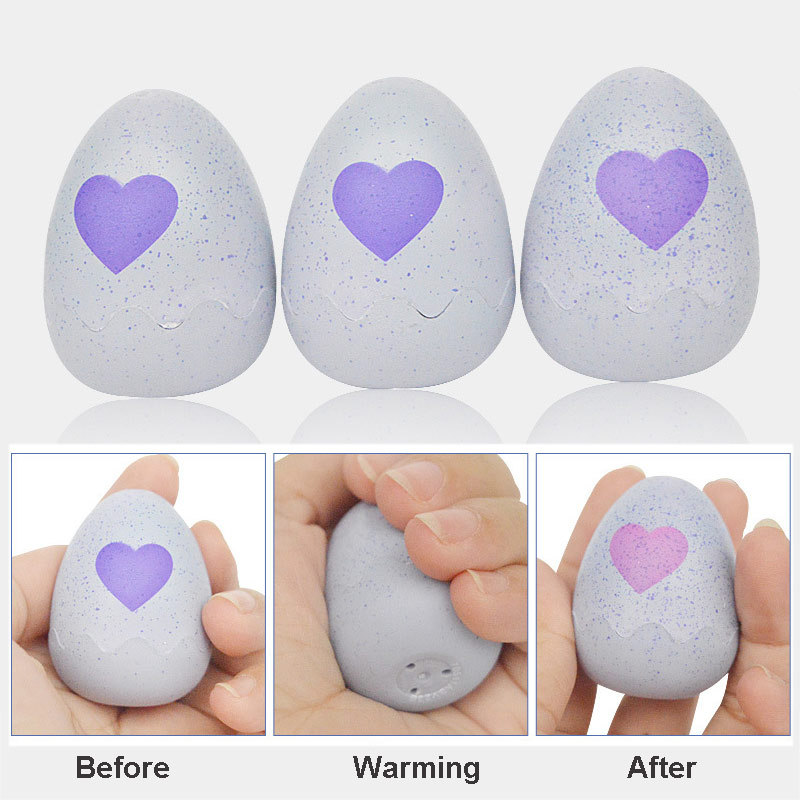 Funny Gadget Surprising Egg Toy Intelligent Toys Action Finger Birds Interactive Hat Egg Change Color Dolls For New Year Gift