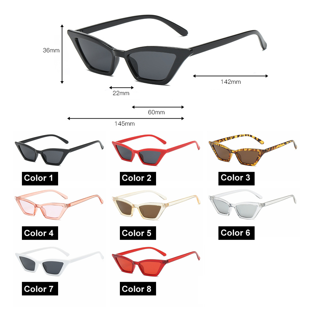 Women okulary Small Frame Sunglasses Cat Eye Sunglasses UV400 Sun Shades Glasses Street Eyewear fashion Sunglasses oculos gafa 6