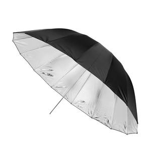 """Image 3 - Godox 150 cm 60 """"Inches Fotografie Studio Paraplu voor Fotostudio van Zachte Verlichting Out In Zwart Binnenkant Van Zilveren Paraplu"""