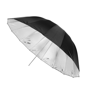 """Image 3 - Godox 150 cm 60 """"Inches Photography Studio Umbrella for Photo Studio of Soft Lighting Out In Black Inside Of Silver Umbrella"""
