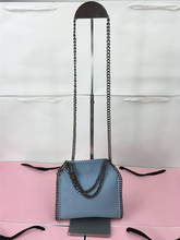 MINI  real picture heavy chain  bag Fashion Genuine Leather  luxury chain bag  famous desiger cow leather  HANDBAG