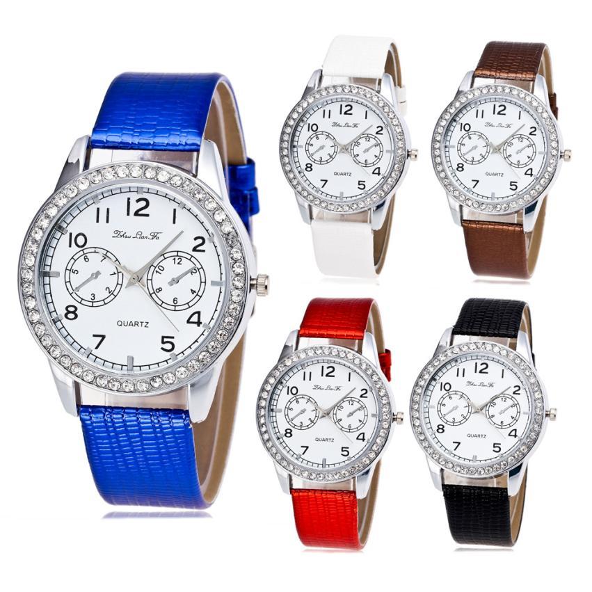 de94abe188d Nova Unisex relógios 2017 Marca Top de Luxo Relógio marca de negócios  relógios de Quartzo relógio de pulso montre femme marque chinês de luxe