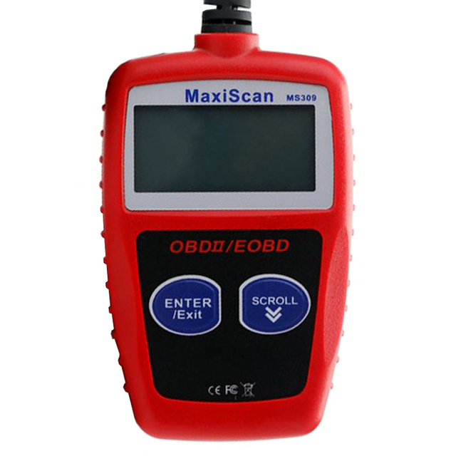 US $49 0 |MaxiScan MS309 Engine Scanner CAN OBD2 Fault Code Reader  Diagnostic Tool-in Code Readers & Scan Tools from Automobiles & Motorcycles  on