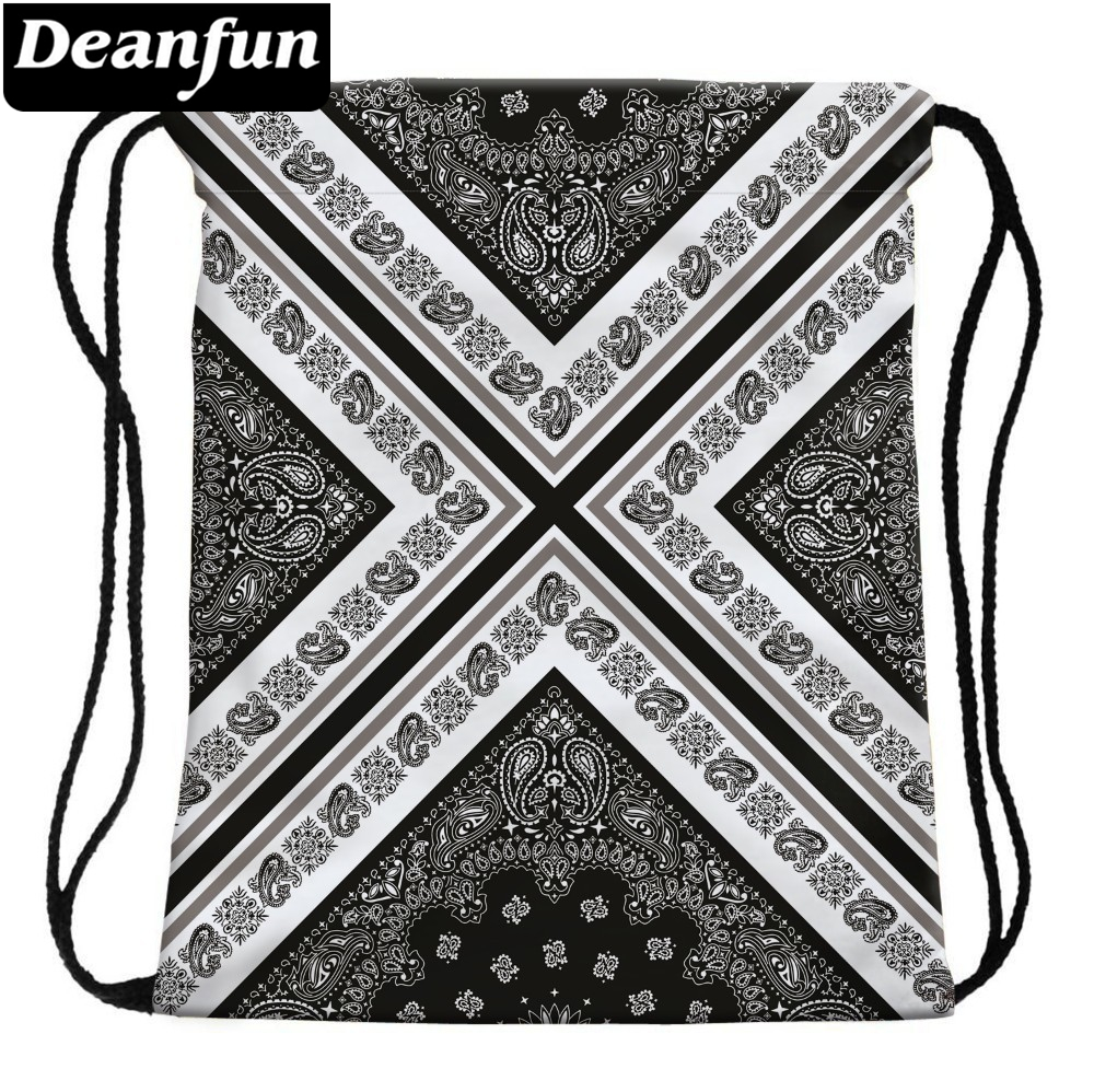 Deanfun 3D Printed Drawstring Bags Love Pizza Pattern Cute Girls School Bag 30574 #