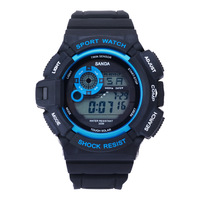 2016 New S Shock Digital Watch Men Women Military Army Watch Water Resistant Date Calendar LED