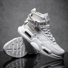 New Fashion Men Sneakers high top Running Shoes for Men Blac