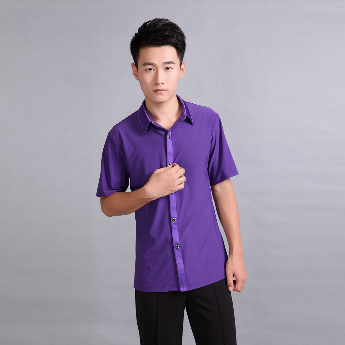 Manufacturers male Latin dance clothing game clothes coat performance costumes modern dance clothing font b men