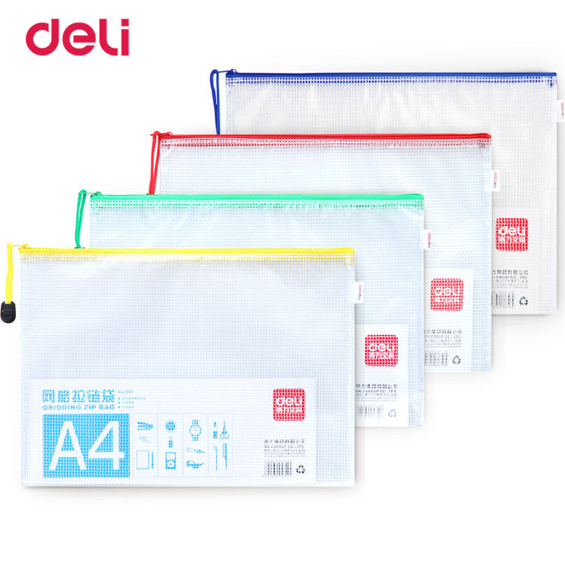 Deli Papel A4 File Folder statioenry Document Bag School & Office Supplies Waterproof Document Folder For Business File Folder deli 1pcs waterproof business a4 paper file folder bag high quality pu document rectangle office home school folder supplies