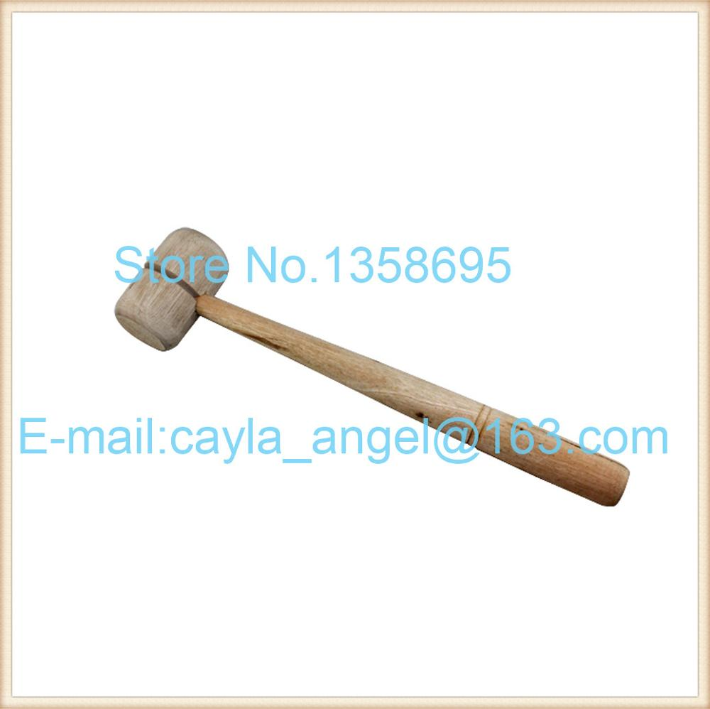 Free Shipping Wooden / Mallet Hammer For Jewelry Repair & DIY Carving Tools