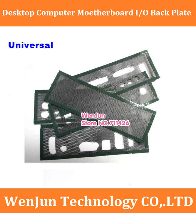 DIY universal  General Host Chassis baffle  I/O back plate for Desktop computer motherboard free shipping