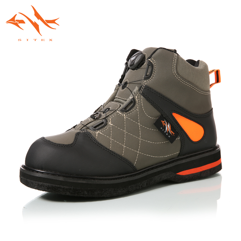 2018 sitex Men's Fishing Hunting Wading Shoes Breathable Waterproof Boot Outdoor Anti-slip Wading Waders Boots image