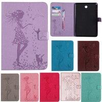 Case For Samsung Galaxy Tab A 8 0 Inch SM T350 T355 SM T355 Cover Funda