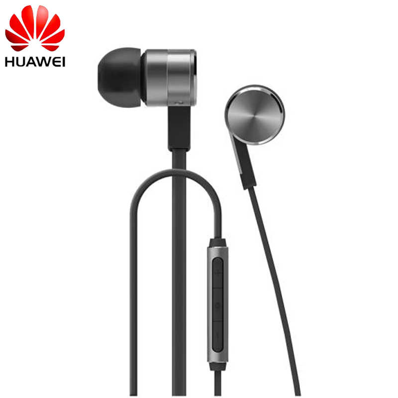 Huawei Honor Engine 2 AM13 Earphone Stereo Piston In-Ear Earbud Mic Three Keys Drive-By-Wire 3.5 mm Earphone for Honor Mate 9