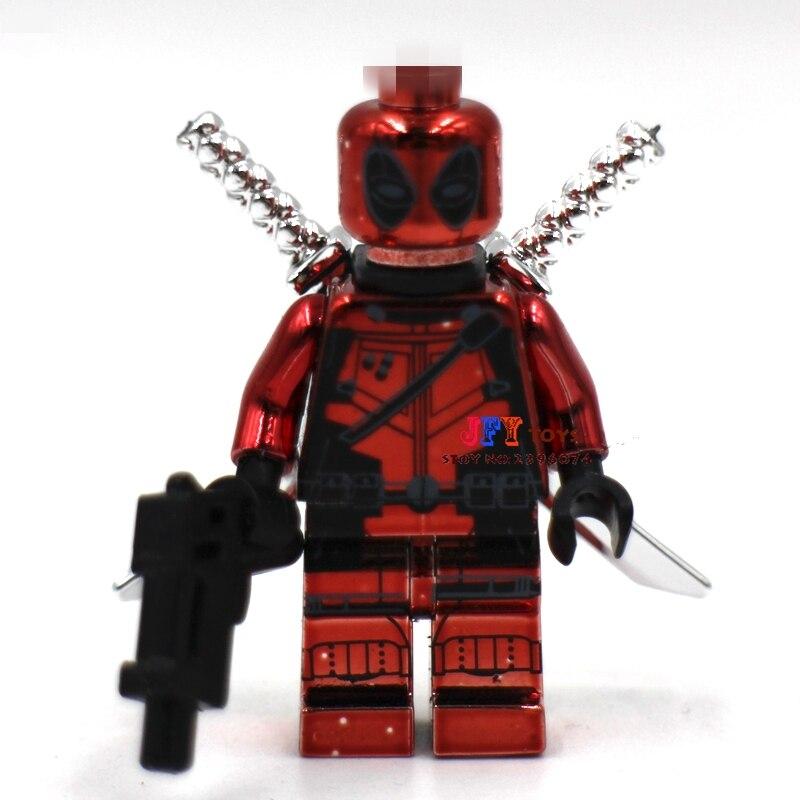 50pcs Starwars Superhero Chrom Deadpool Building Blocks Bricks Friends For Girl Boy Kids Children Toys Brinquedos Menina We Have Won Praise From Customers Toys & Hobbies Blocks