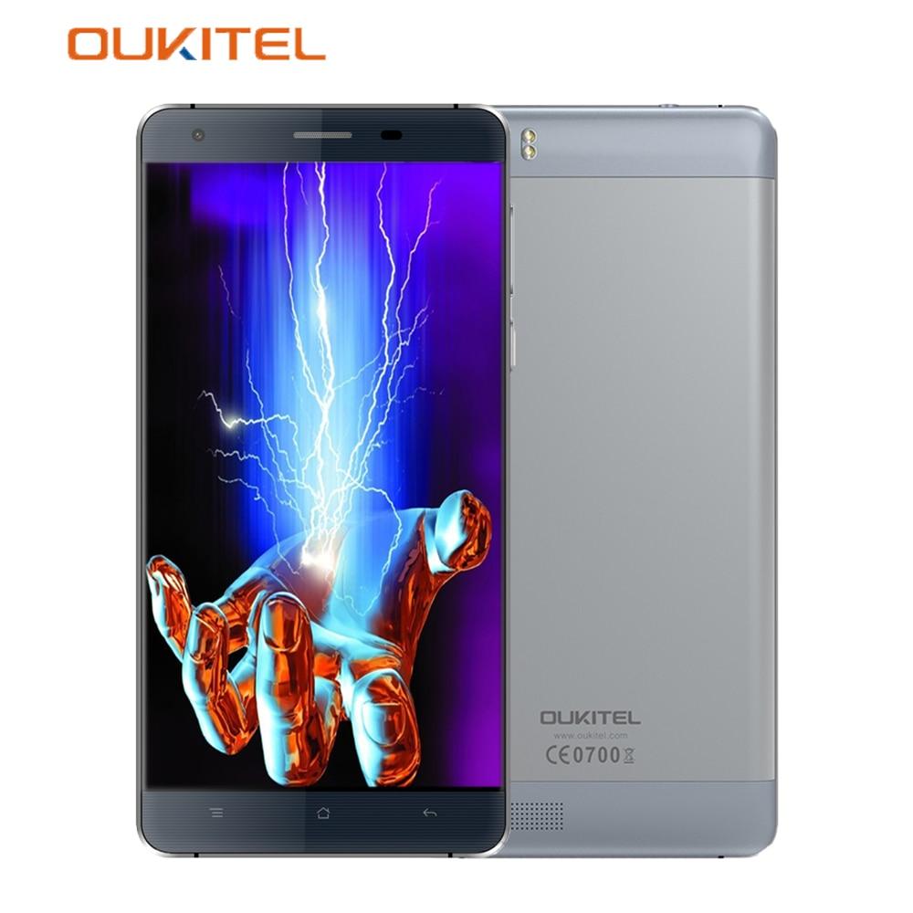 OUKITEL K6000 4G LTE Smartphone 5 5 Inch MTK6735P Quad Core 1 0GHz 2G RAM 16G