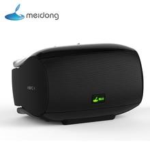 Meidong Super Bass Mini Wireless Bluetooth Speaker Subwoofer Stereo HIFI Loudspeakers Portable Speaker for Phone HandsFree NFC