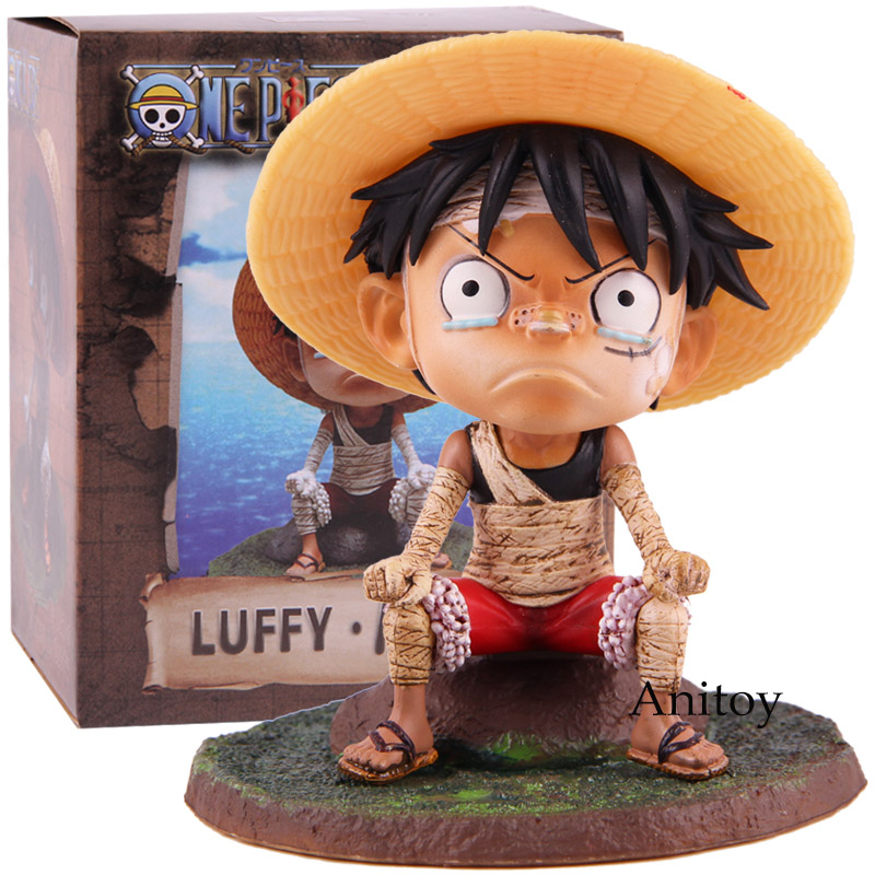 Toys & Hobbies Hkxzm Anime One Piece Young Child Monkey D Luffy Pvc Figure Collectible Model Toys Gift