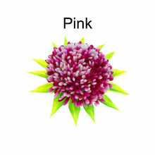 Plastic Aquarium Decorations, Red/Blue/Pink Artificial Plastic Plant Flower Grass FishTank Aquarium Ornament Decorating(China)
