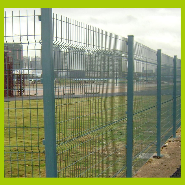Construction Wire Mesh Fence Welded, Temporary Barriers, Used For ...