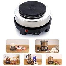 Портативный электронный подогреватель плита молока воды кофе мокко нагревательная печь Многофункциональный кухонный прибор 500 Вт