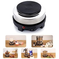 Portable Electric Heater Stove Hot Cooker Plate Milk Water Coffee Mocha Heating Furnace Multifunctional Kitchen Appliance 500W