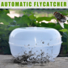 1Pcs Polypropylene Clear Automatic Flycatcher Fly Trap Pest Control Catcher Mosquito for Home Garden Pest Control Products