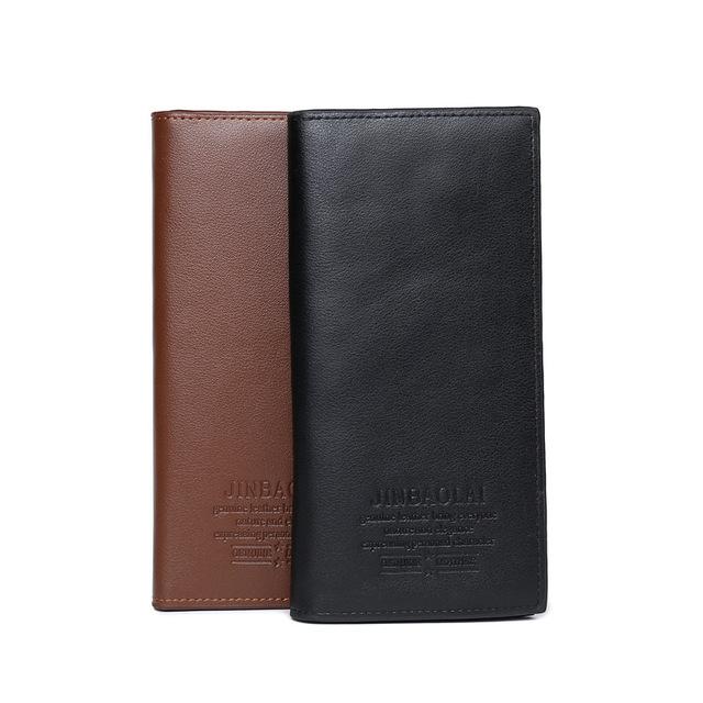 Long Wallet for Men (Black)